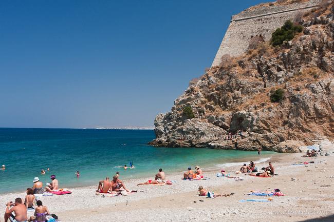 пляж Палеокастро Крит
