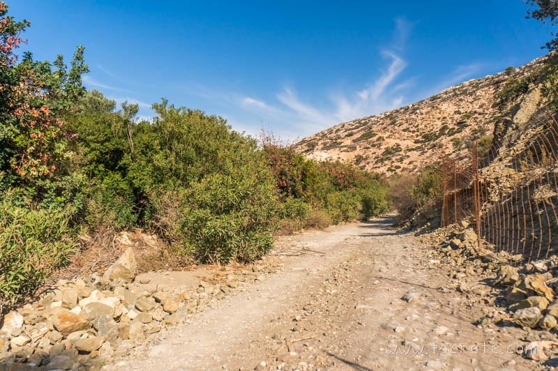 Ущелье Агиофаранго (Αγιοφάραγγο, Agiofarango)